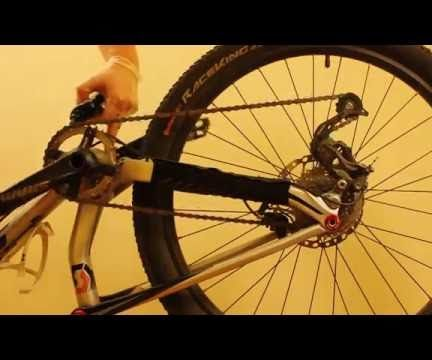 How to clean your bicycle chain and relube it