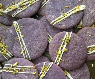 Ube Sugar Cookies