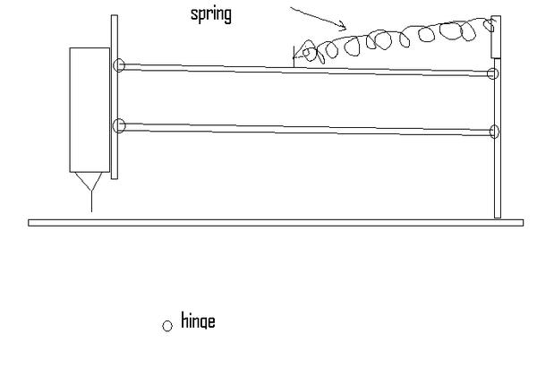 PCB Drill Press Using Salvaged Door Hinges