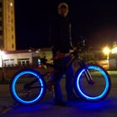 LED bicycle wheels