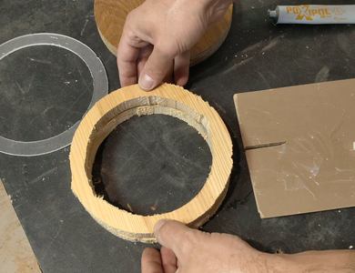 Gluing the Empty Circles - 3
