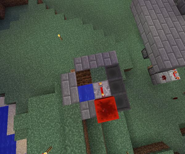 Automatic Melon Farm in Minecraft