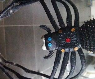 Motion Activated Descending Spider