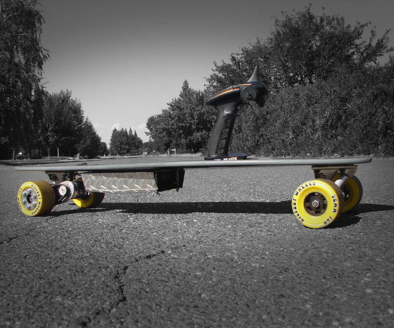 DIY Electric Longboard [FOR SALE!]