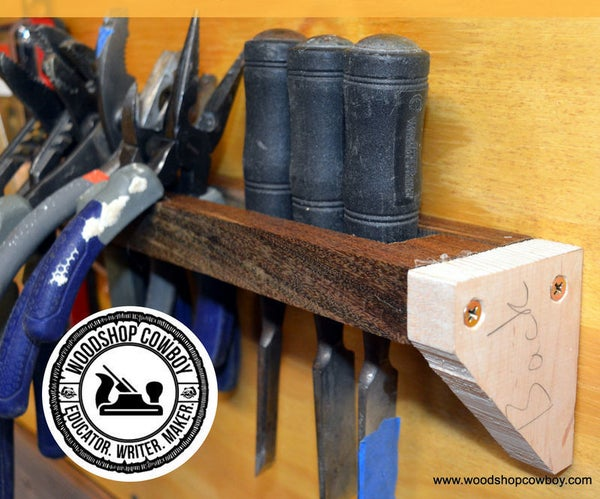 Build a Tool Rack for Your Tool Wall