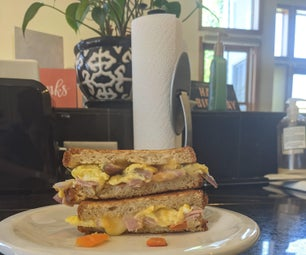 The Denver Omelette Grilled Cheese