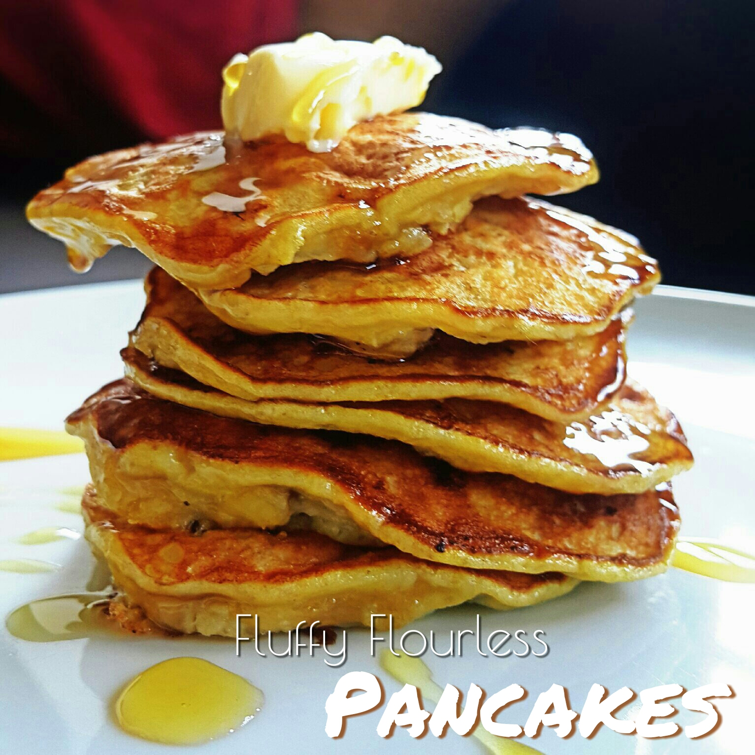 10mins Gluten-free Breakfast: Healthy Fluffy Flour-less Pancakes
