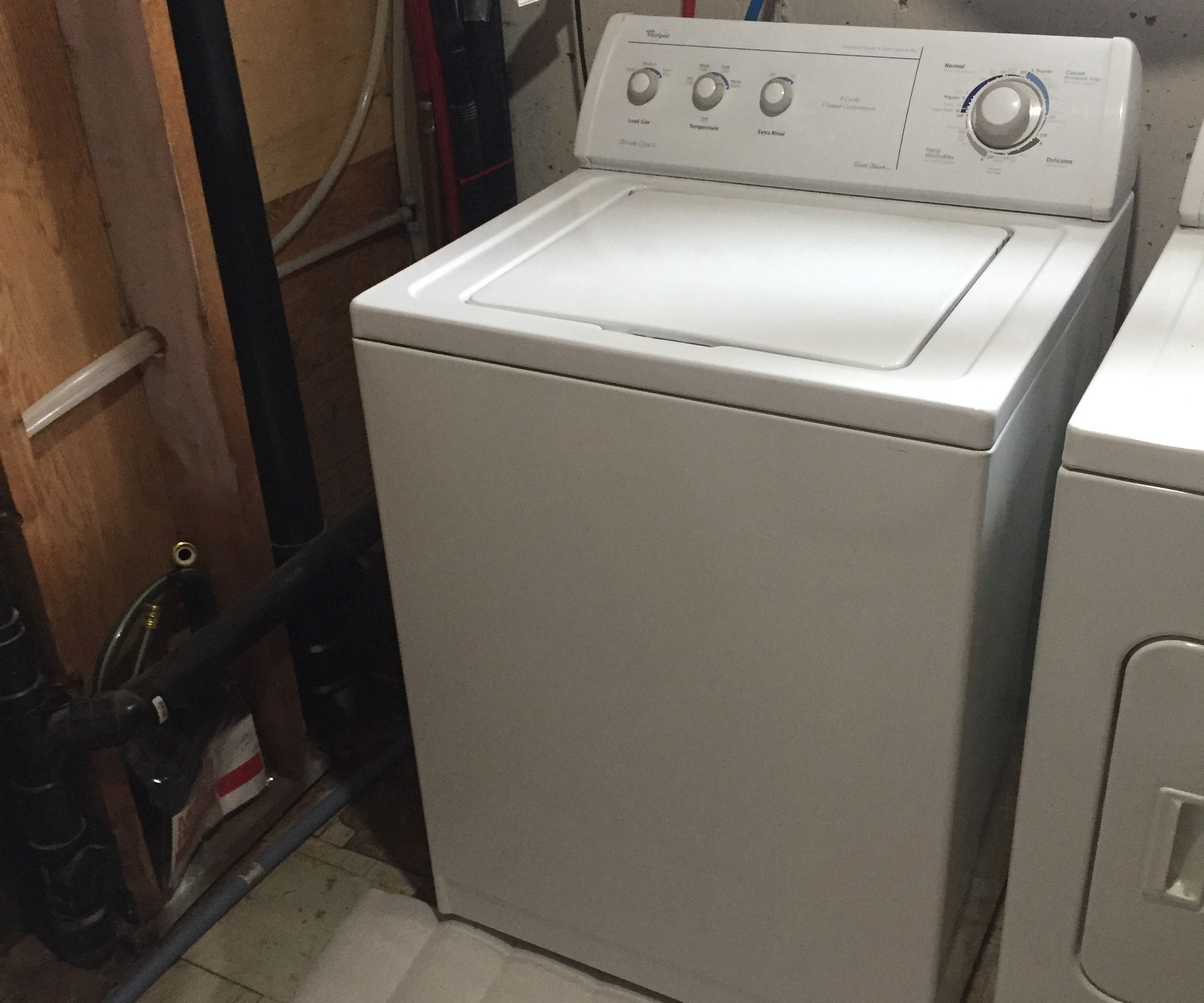 Open Up a Whirlpool Ultimate Care II Washer