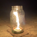 Mason Jar Vortex Burner
