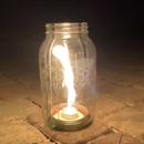 Mason Jar Vortex Burner