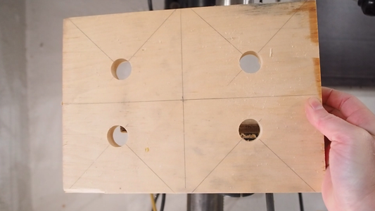 Drill Relief Holes