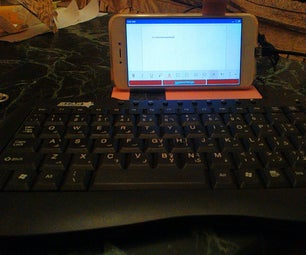 将Android智能手机连接到USB键盘