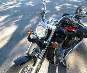 Motorcycle Moustache - the Motostache