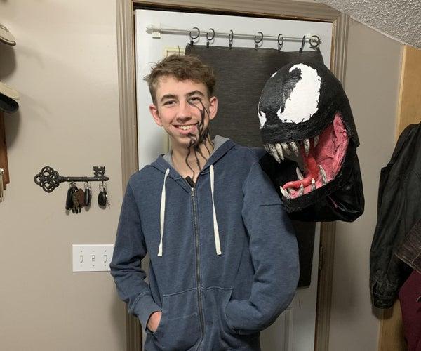 Venom Puppet Costume