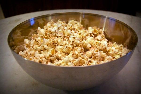 Spicy Mocha Popcorn