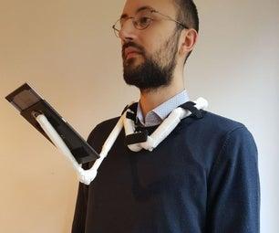 Modular Handsfree Phone Holder From Paper