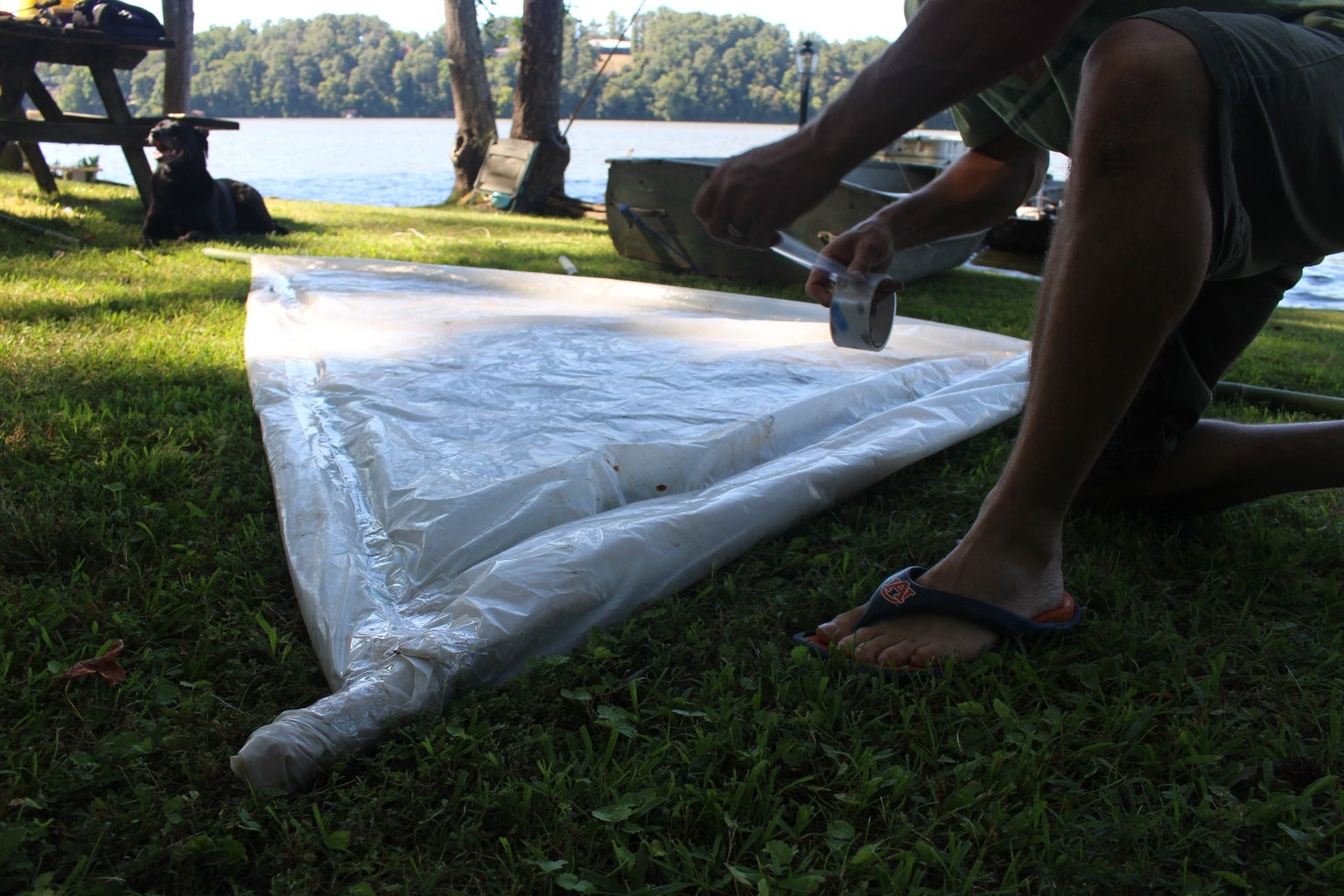 Making the Sail