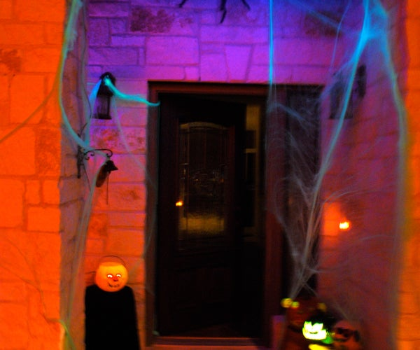 Halloween Dropping Spider