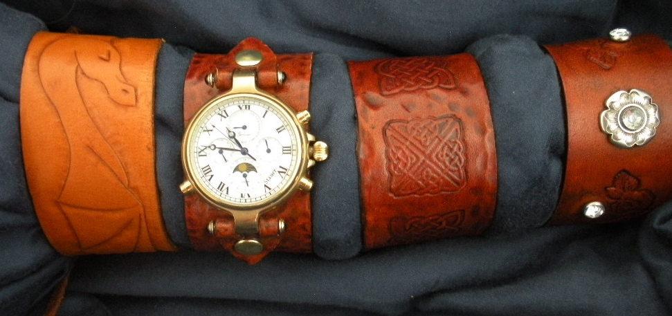 Leather Cuff Watch Band + Leather Bracelets 101 - Be Fashionable No Matter What Time You Arrive!!