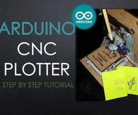 Arduino CNC Plotter (DRAWING MACHINE)