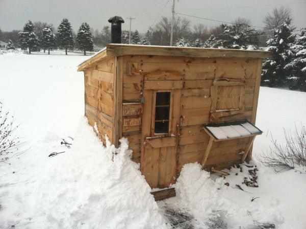 Wood Burning Sauna DIY