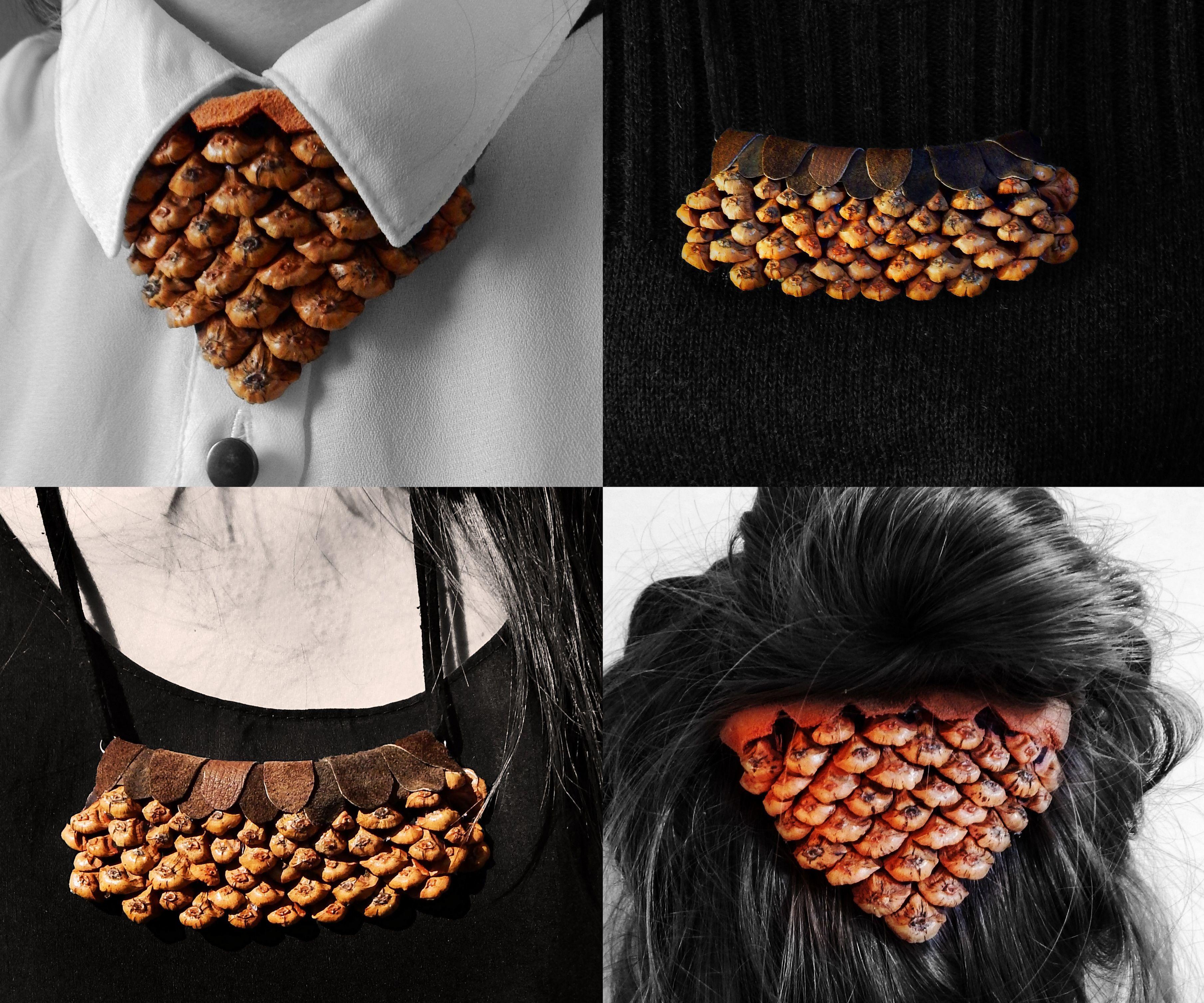 DIY Pine Cone Jewelry