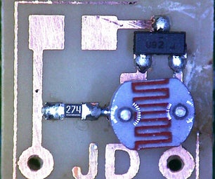 Micro Light Detecting Circuit