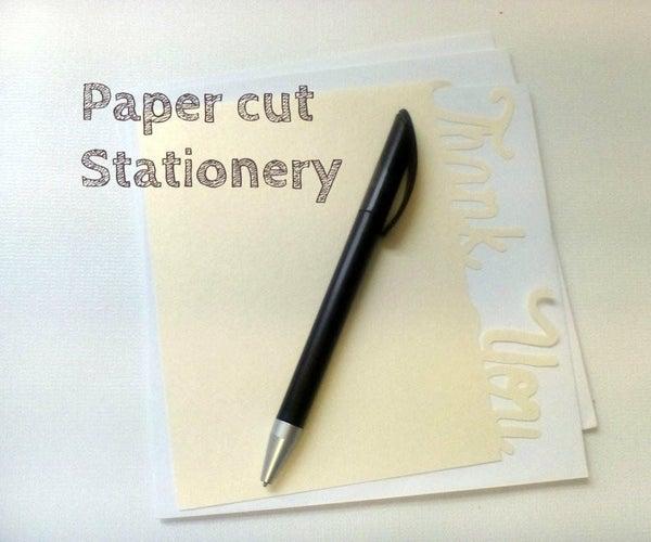 Bridal Paper Cut Notecards