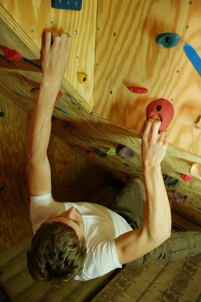 Garage Climbing Wall