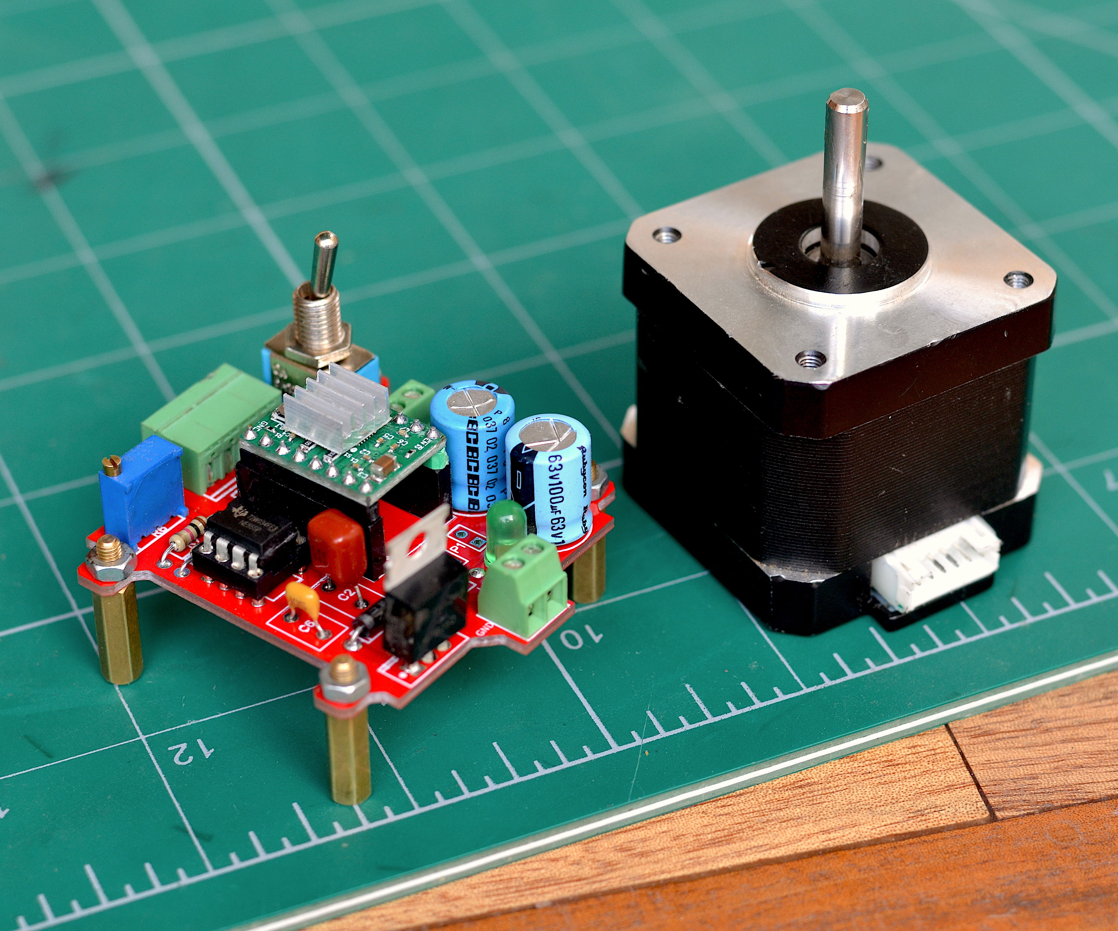 DIY Stepper Motor Controller