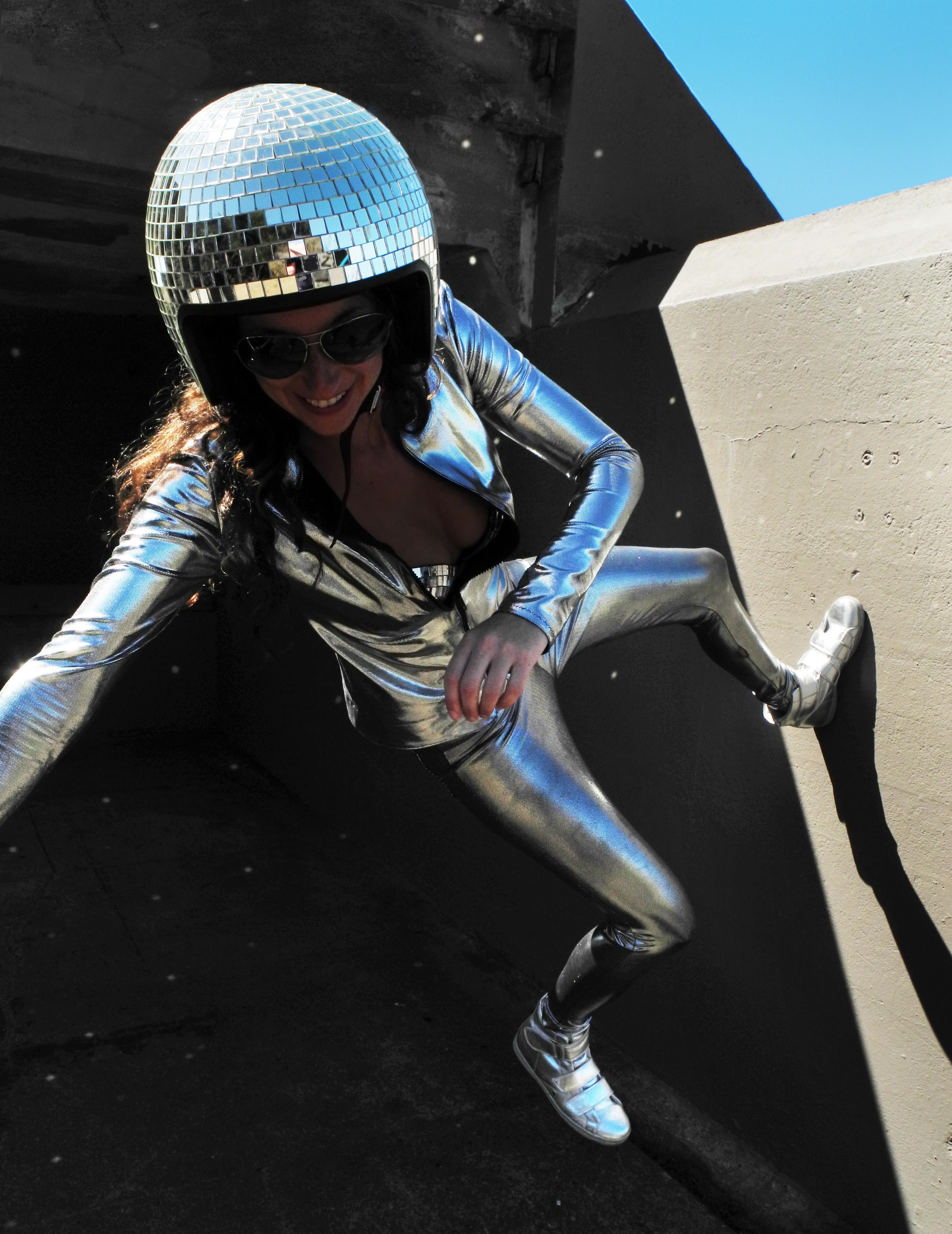 Silver Disco Costume