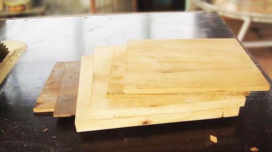 Step 1: Cut the Wood Frame
