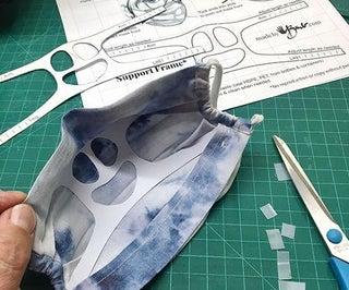 DIY面罩支持框架