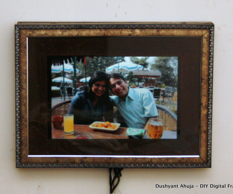 Digital Photo Frame - using an old laptop