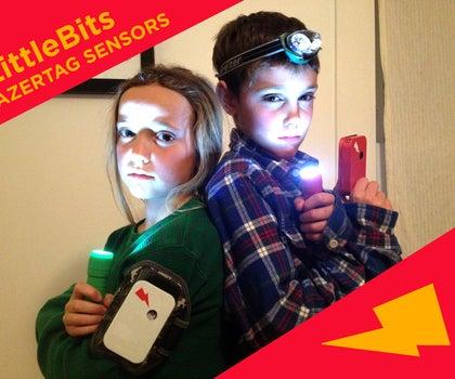 LittleBits LazerTag Sensors