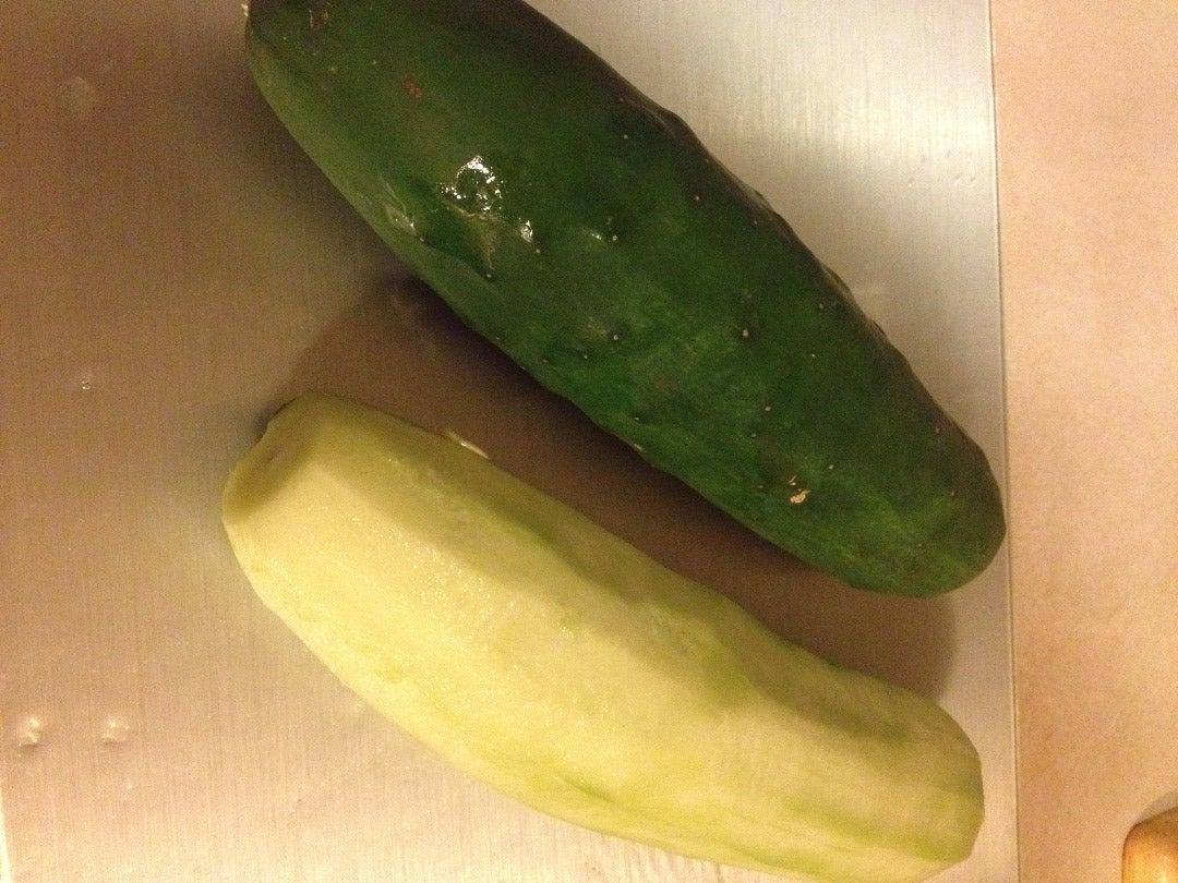 Prepartation of Cucumbers