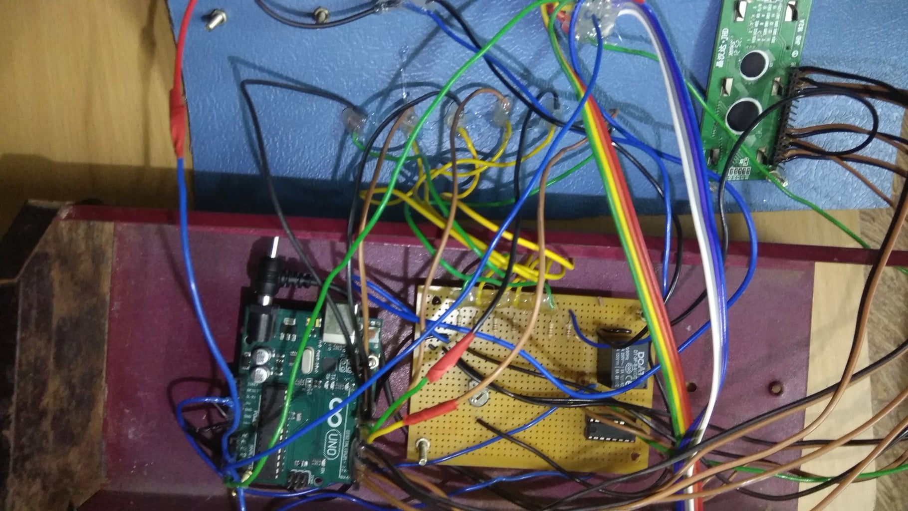 PLACEMENT OF ARDUINO