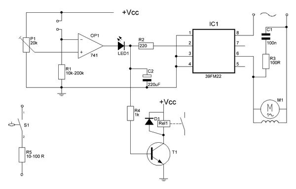 Watering Your Plants With an Op-amp