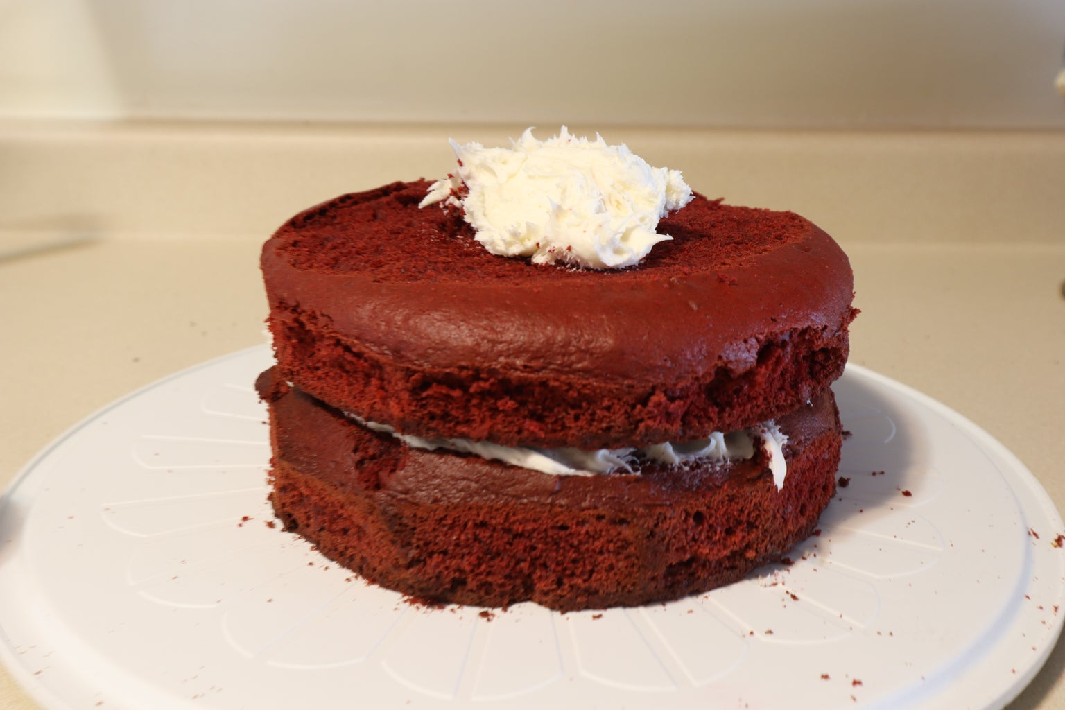 How to Make a Two-layer Cake
