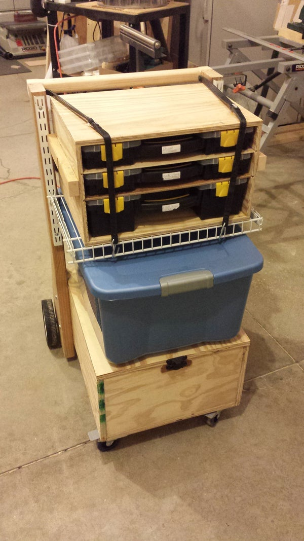 Mobile Toolbox and Work Station