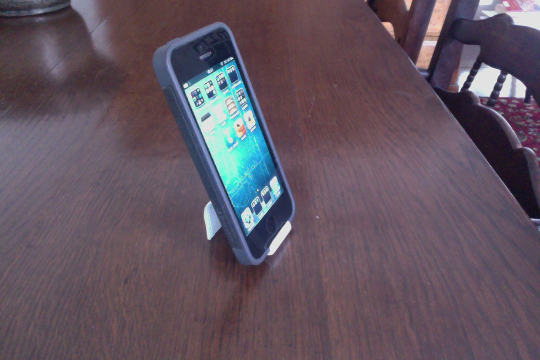 Paper Laminate iPhone Stand
