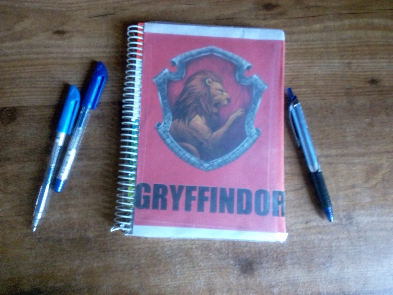 DIY Notebook Cover - Harry Potter Inspired
