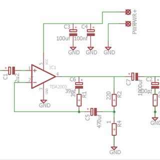 10W R.M.S. Audio Amplifier