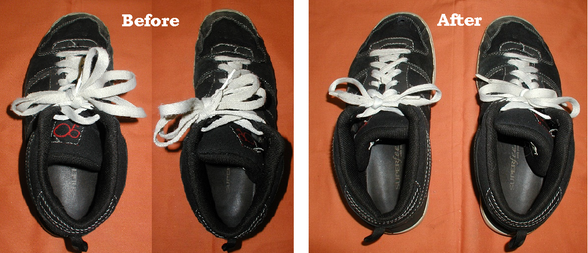 How to Shorten Your Shoelaces When They