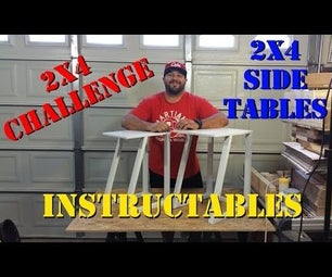 2x4 Contest - How to Make a Pair of Nesting Side Tables