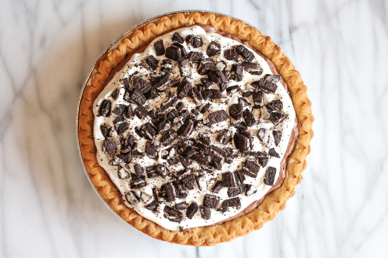 Top the Pie With Cool Whip and Oreos