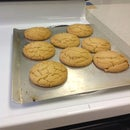 Fo'shizzle Peanut Butter Cookies