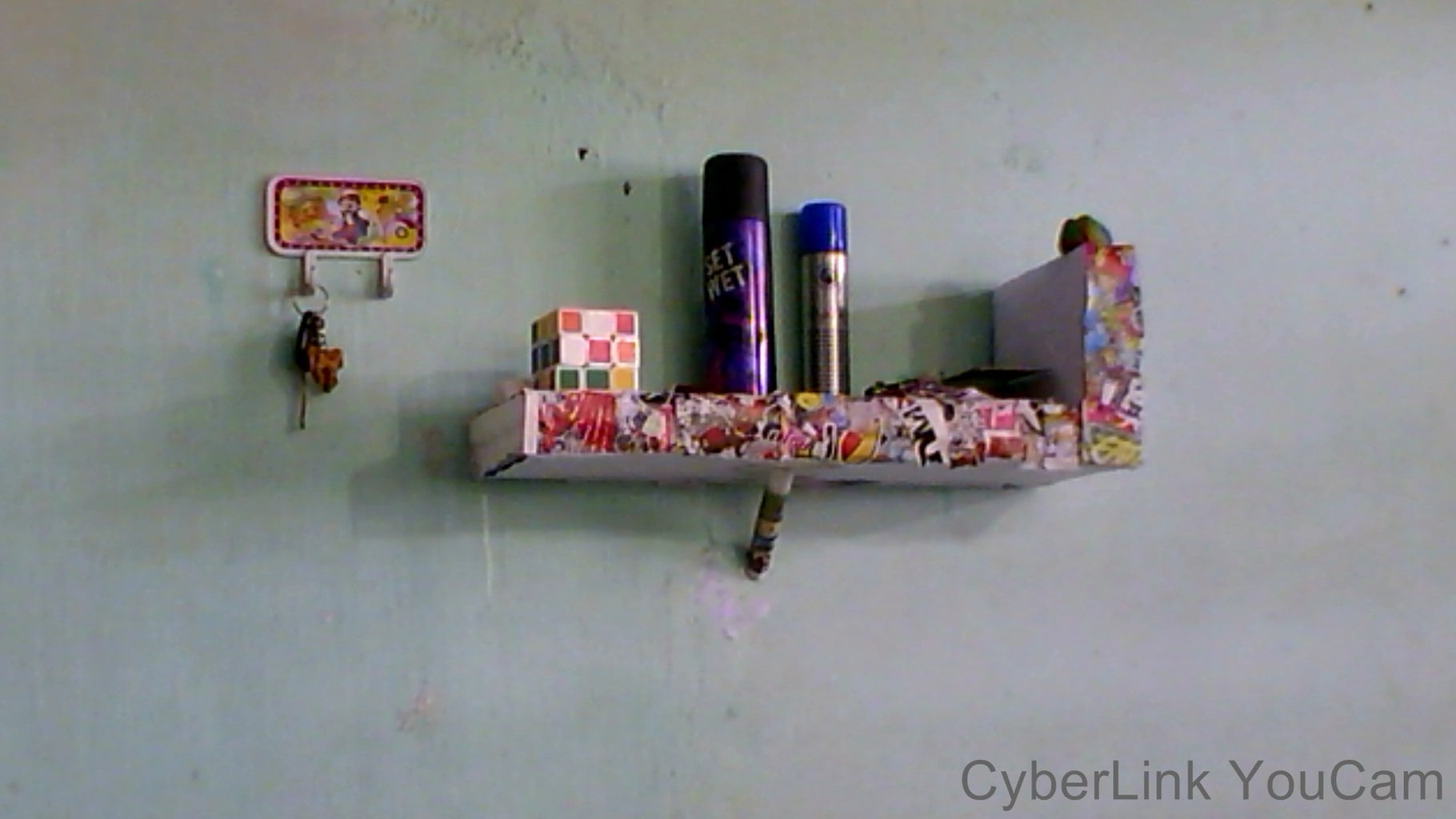 DIY Wall Stand