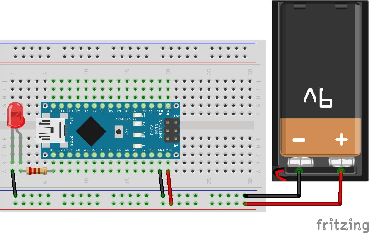 Arduino Nano : Blink