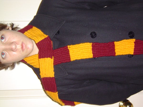 Easy Harry Potter Scarf